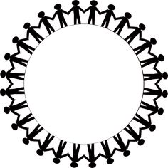 Silhouette Of People Holding Hands - Cliparts.co