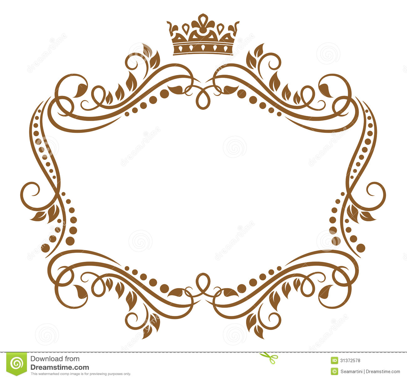 Silhouette Royal Crown Vintage Clip Art Prawny Clipart Cartoons