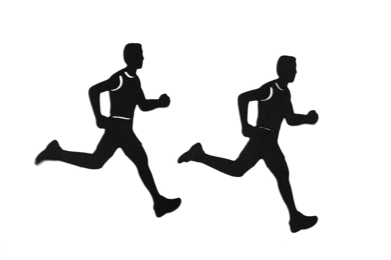 Silhouette Runner - Clipart .-Silhouette Runner - Clipart .-12