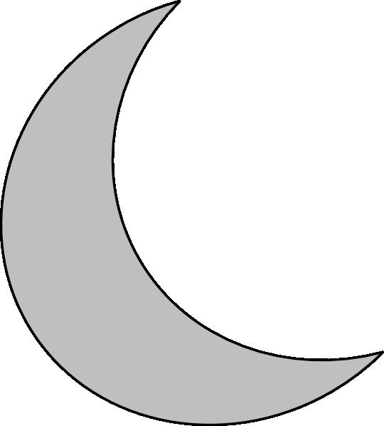 Silver moon clip art vector clip art fre-Silver moon clip art vector clip art free-17