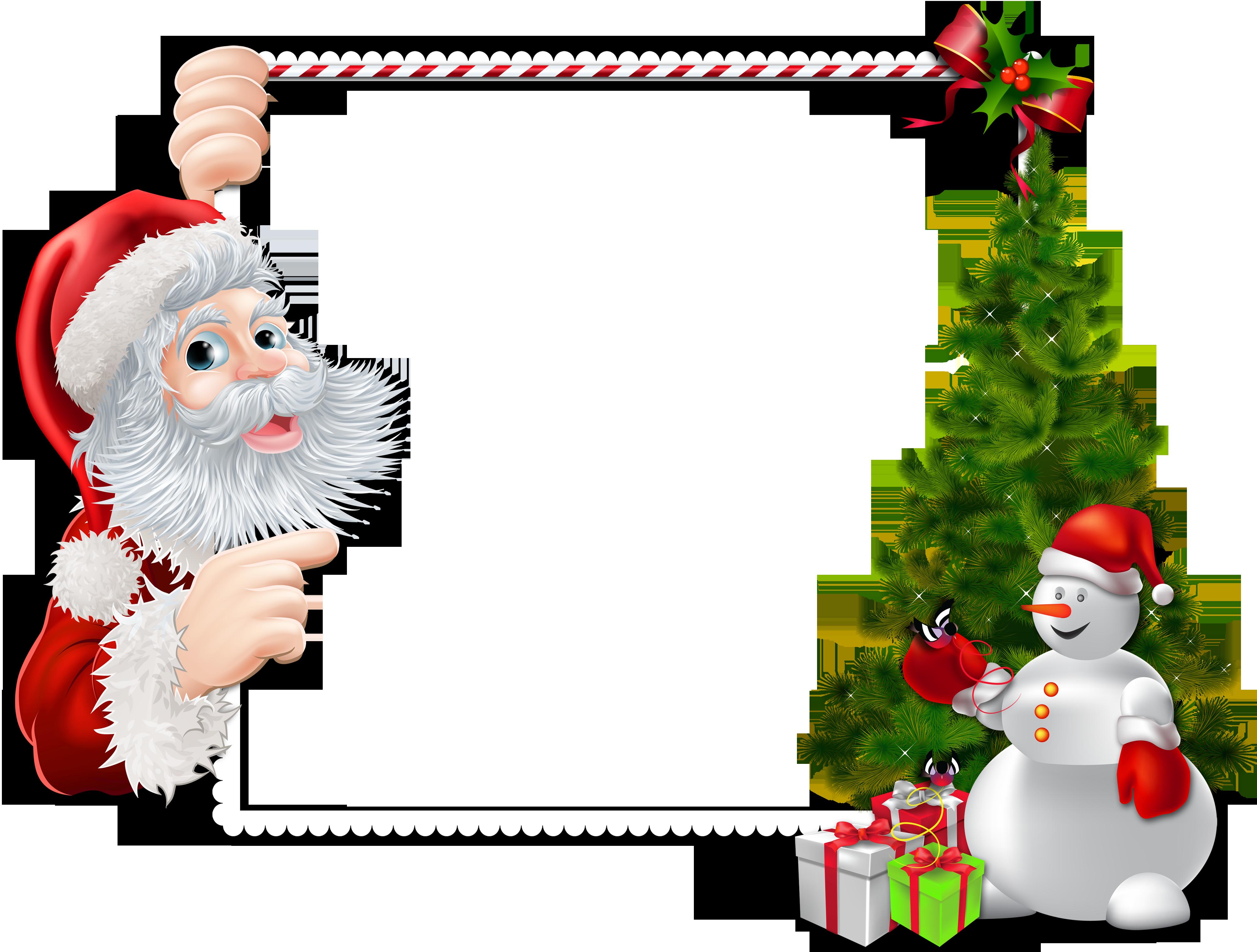 Silviub 12 Months Ago Christmas Christmas Frames Frame Png Santa Claus