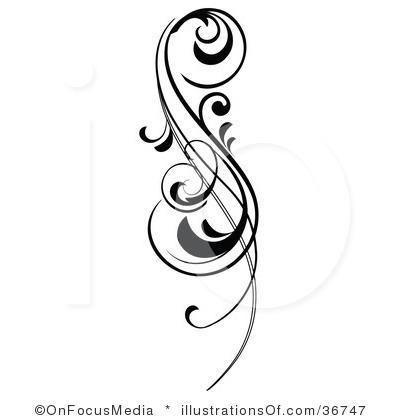 Simple Scroll Design Clip Art-simple scroll design clip art-19