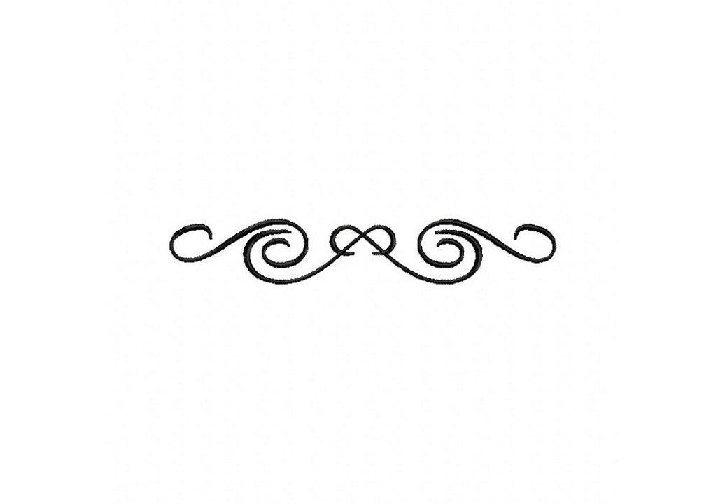 16 Swirl Border Clip Art
