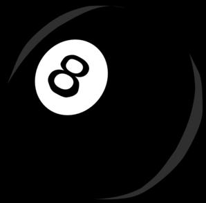 Simple 8 Ball Clip Art