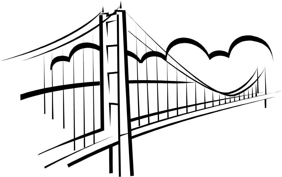 Simple Bridge Clipart
