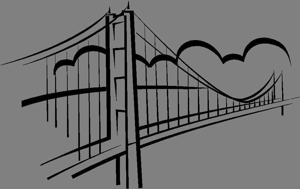 Simple Bridge Clipart