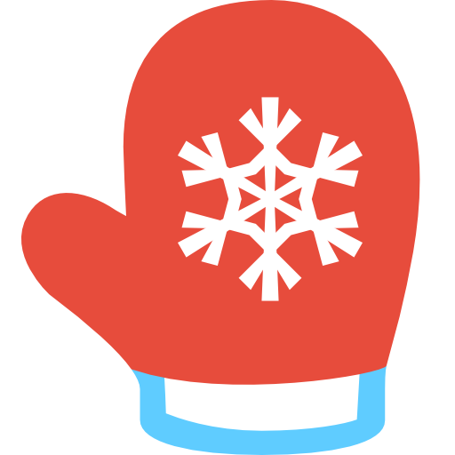 Simple Christmas Mitten Icon Png Clipart-Simple Christmas Mitten Icon Png Clipart Image Iconbug Com-15
