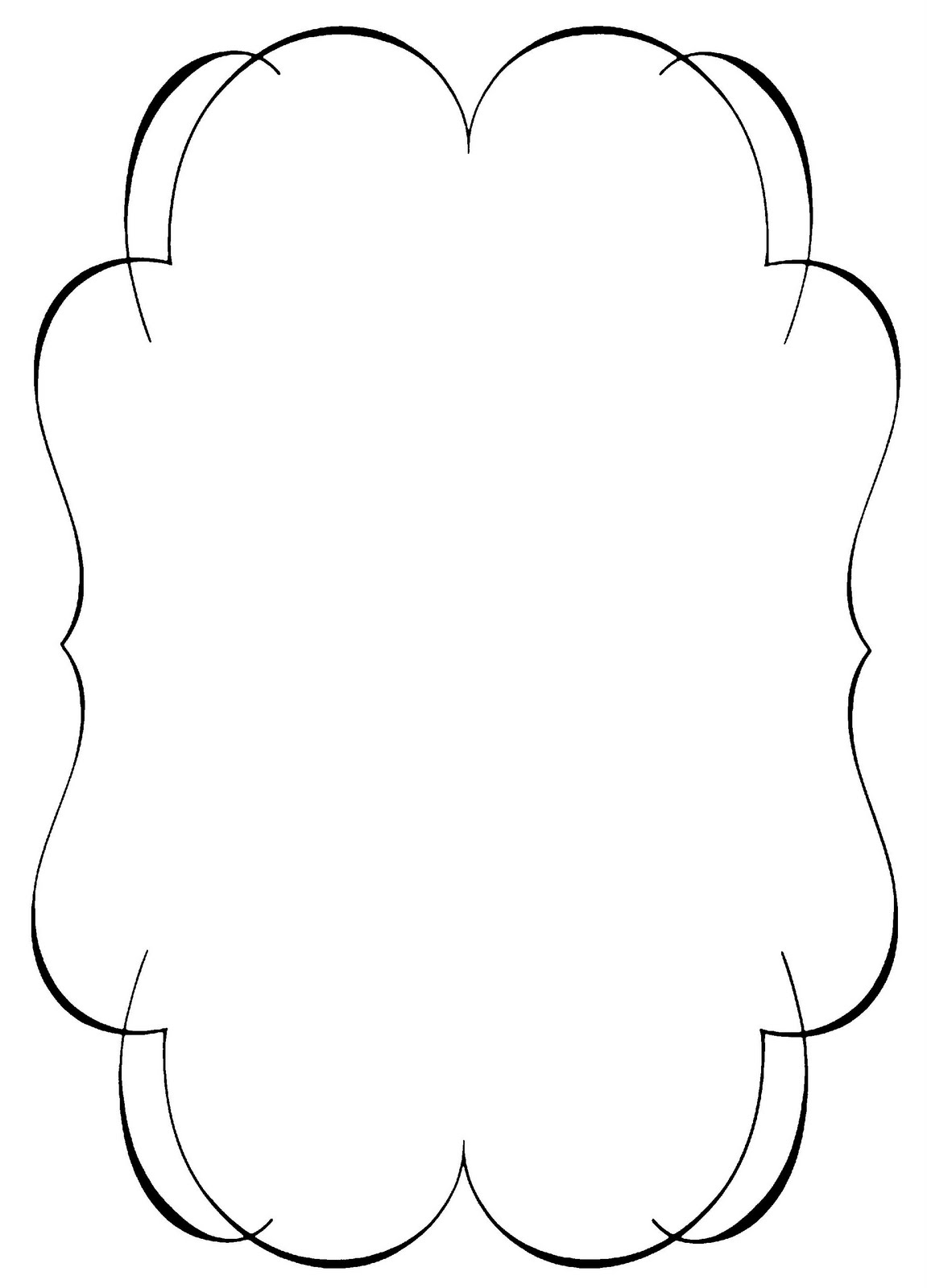 Simple Corner Borders Clip Art | Free Vintage Clip Art - Elegant