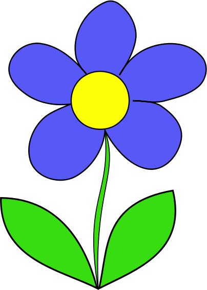 Simple Flower Clipart .