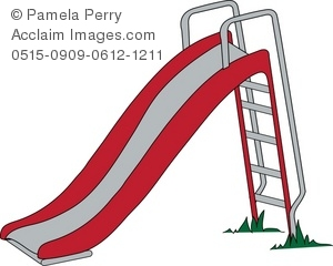 Simple Playground Slide . Simple Playground Slide . playground clipart