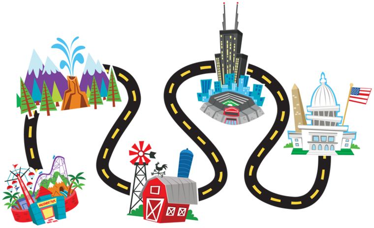 Simple Road Map Clipart-Simple Road Map Clipart-17