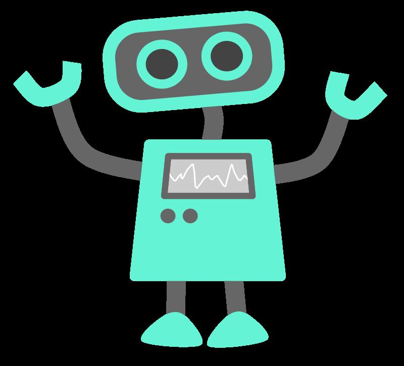 Simple Robot Clipart