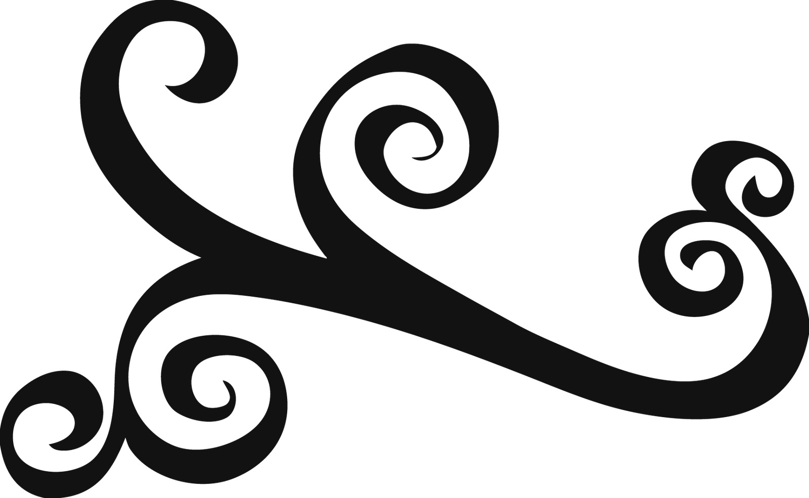 Simple swirls clipart free clipart image-Simple swirls clipart free clipart images-1