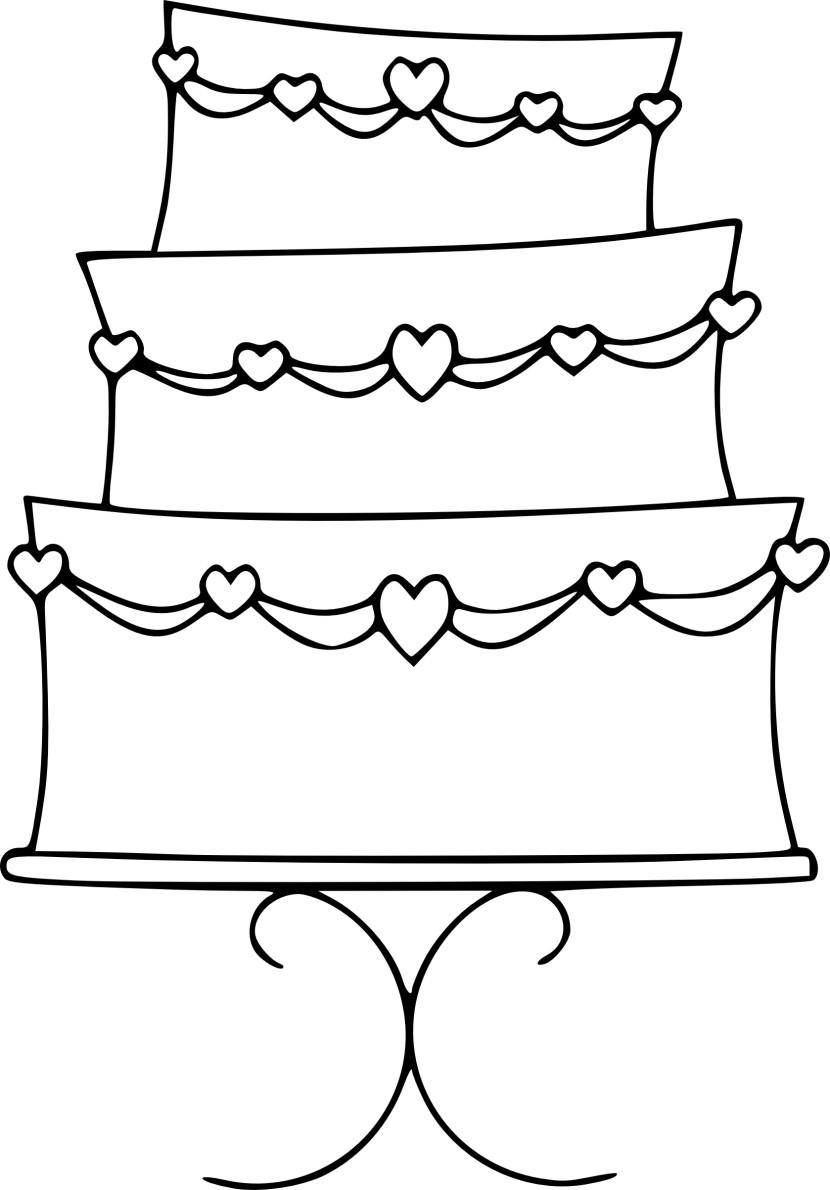 Simple Wedding Cake Clip Artwedding Gall-Simple Wedding Cake Clip Artwedding Gallery Wedding Gallery-9