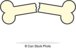 ... Simple Yellow Outline Broken Bone Ic-... simple yellow outline broken bone icon. concept of health... ...-17