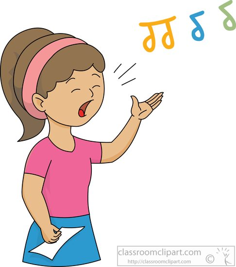 Sing Clipart #108-Sing Clipart #108-6
