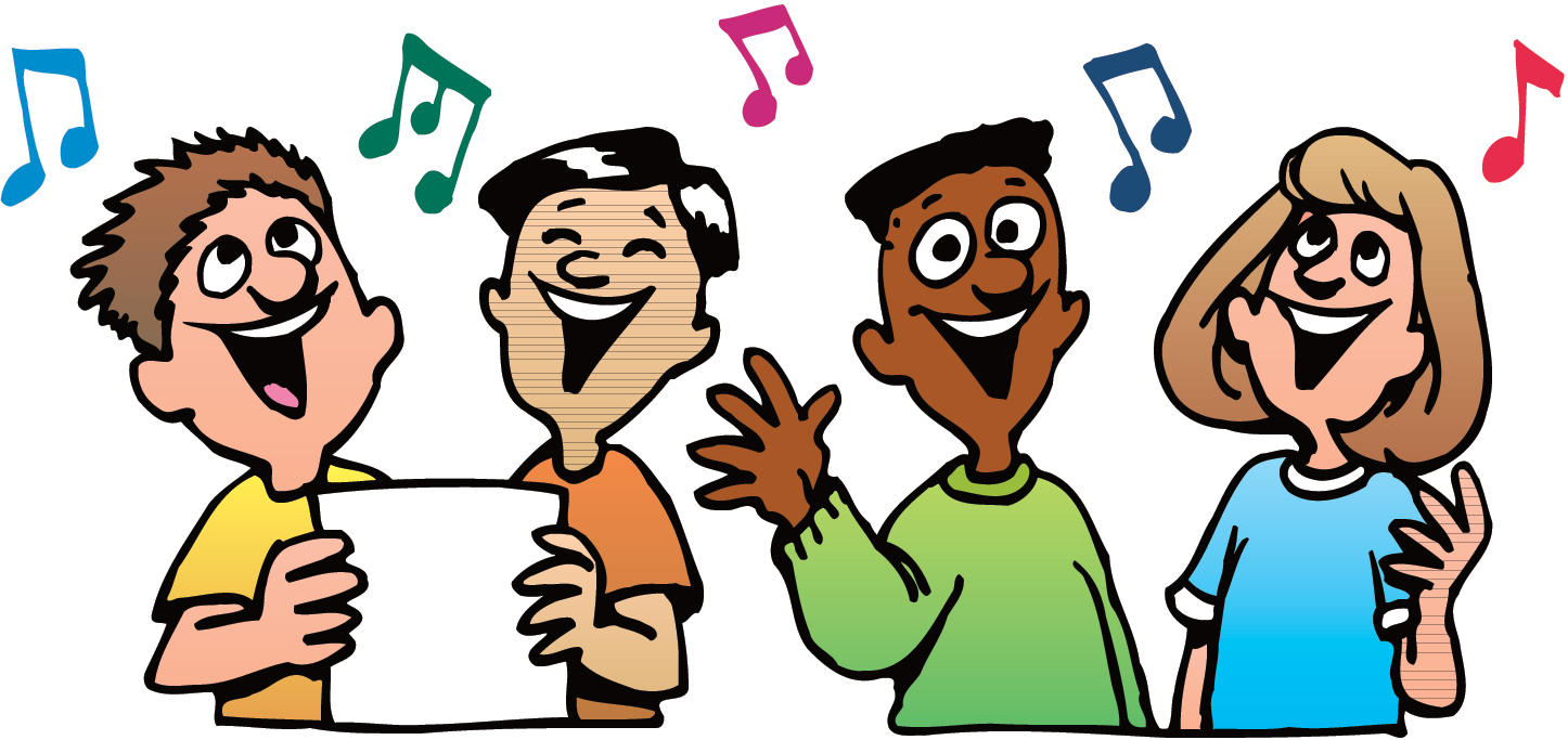 Singing Clip Art - Clipart Singing