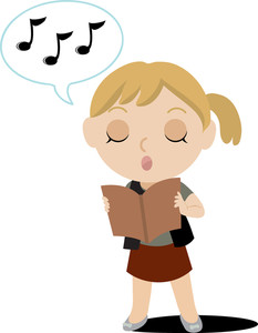 singing clipart-singing clipart-9