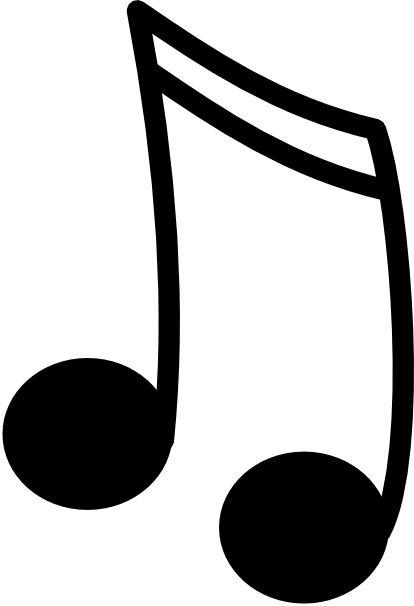 Single Music Note Clip Art ..