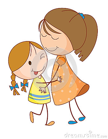 sister clipart