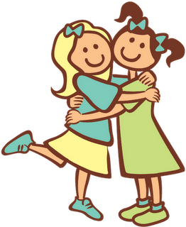 sisters-hugging-clipart-1 - Sisters Clip Art