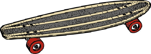 Skateboard 2 Clip Art At Vector Clip Art Online