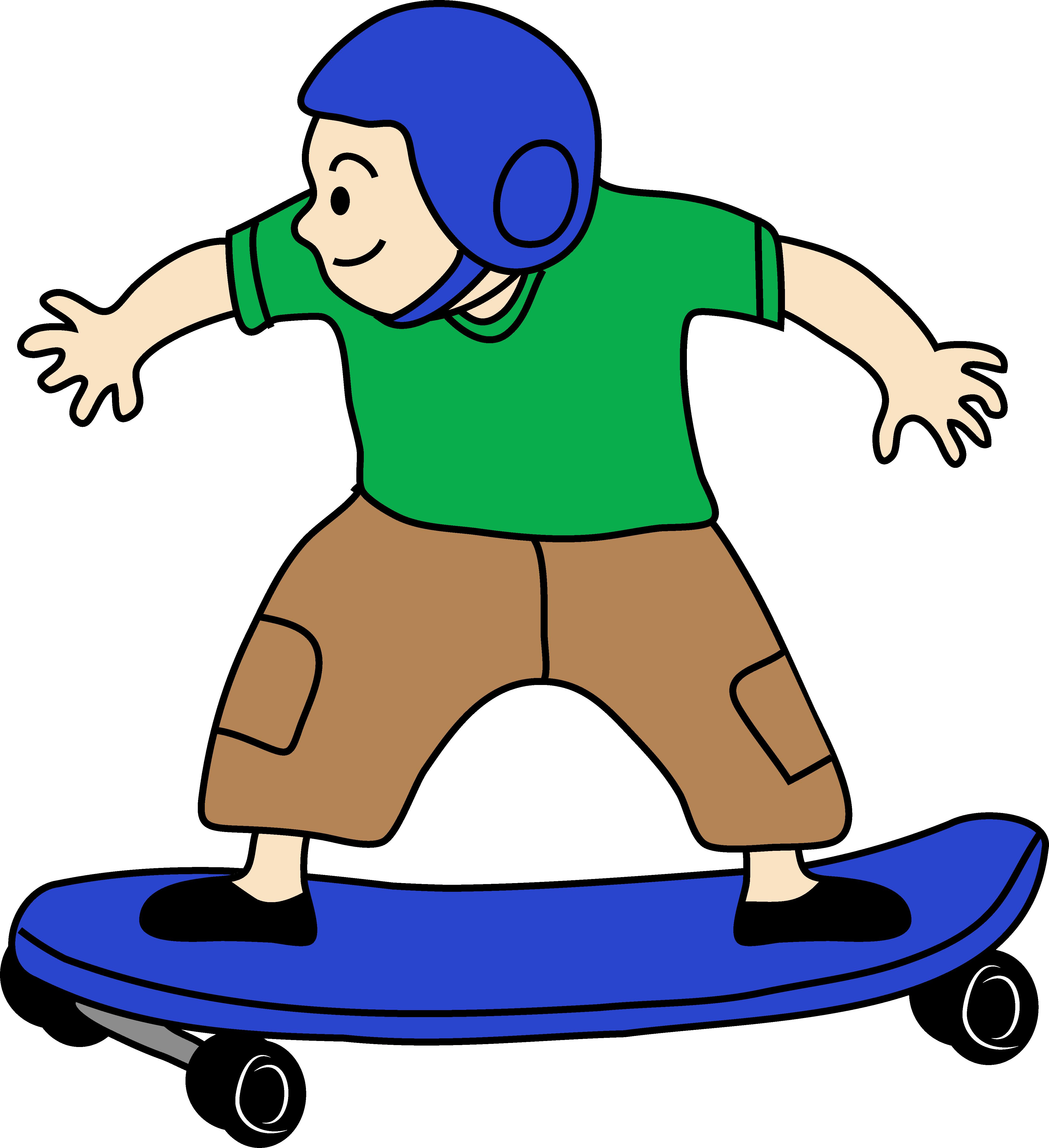skateboard clipart. skateboard clipart