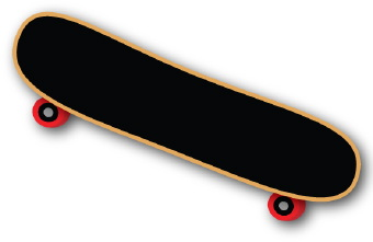 skateboard clipart-skateboard clipart-12
