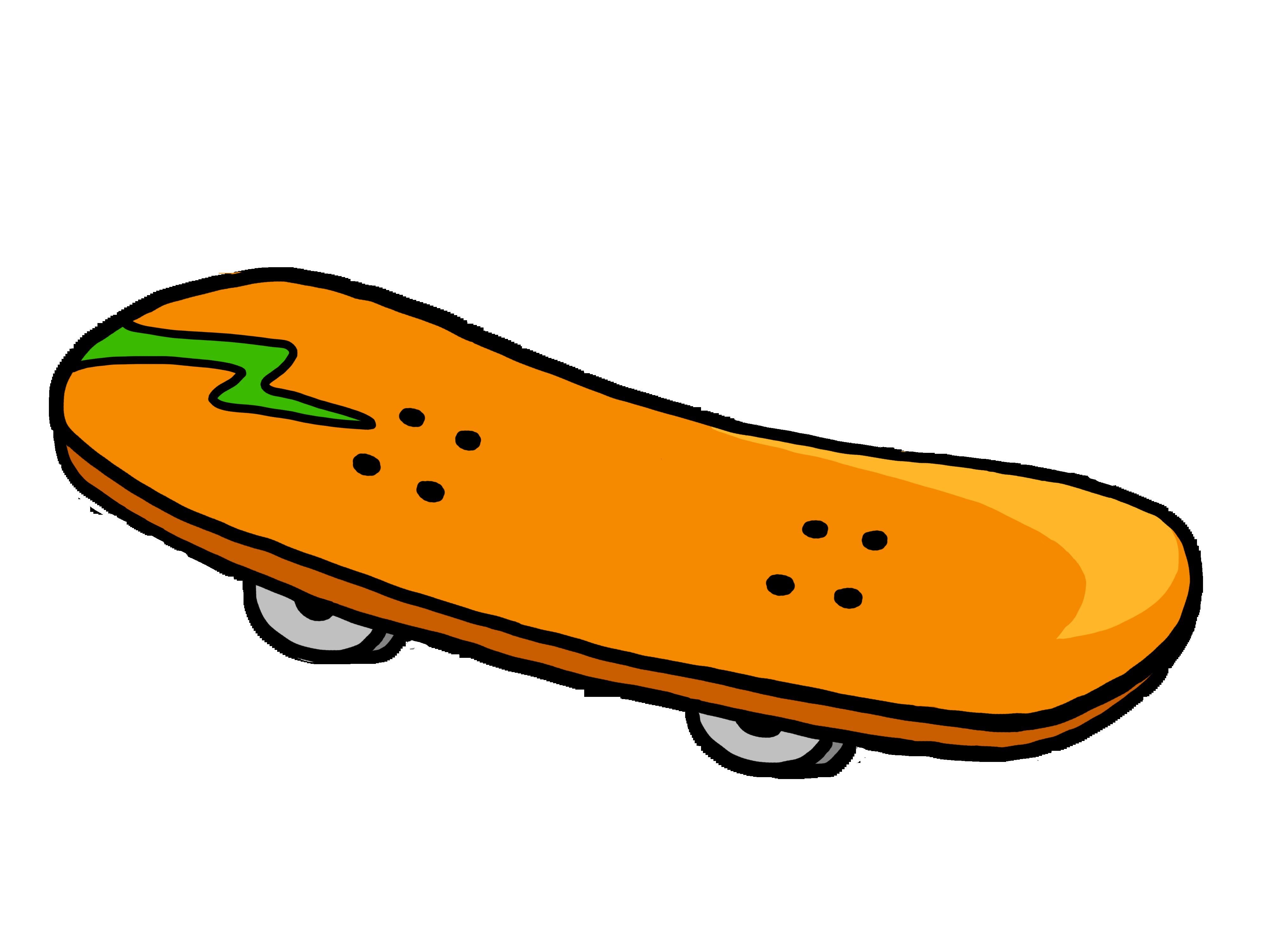 skateboard clipart-skateboard clipart-1