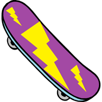 Skateboard Clipart PNG Image