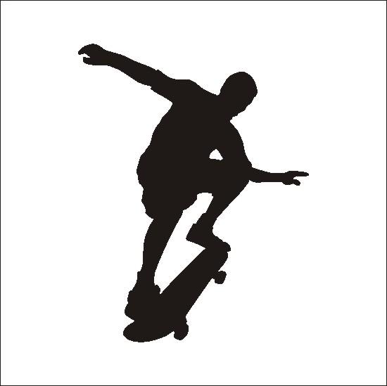Skateboard skate clipart image-Skateboard skate clipart image-17