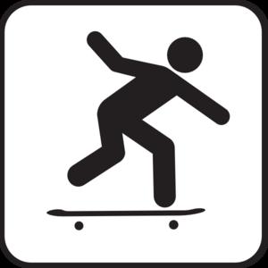 Skateboarding clip art free clipart imag-Skateboarding clip art free clipart images-12