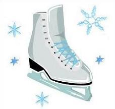 Skates Clip Art. ice skates