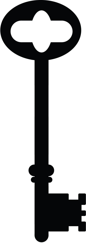 skeleton key clipart-skeleton key clipart-3