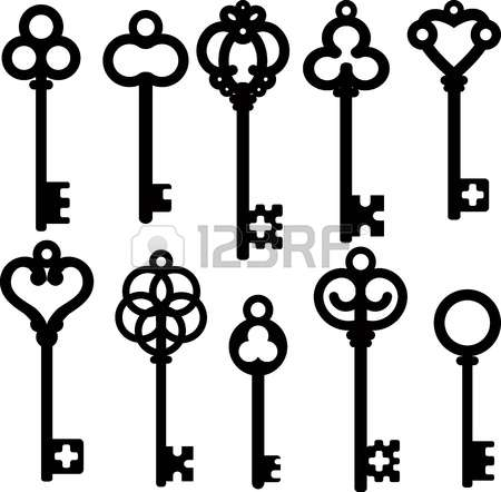 skeleton key: antique skeleton keys