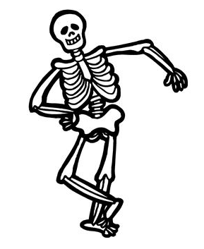 Skeleton tennis court clipart clipart cliparts for you