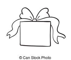 ... sketch of gift box - detailed sketch-... sketch of gift box - detailed sketch of gift box on a white... ...-16