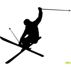 Skiing Cliparts. Clipart Skier-Skiing cliparts. Clipart Skier-15
