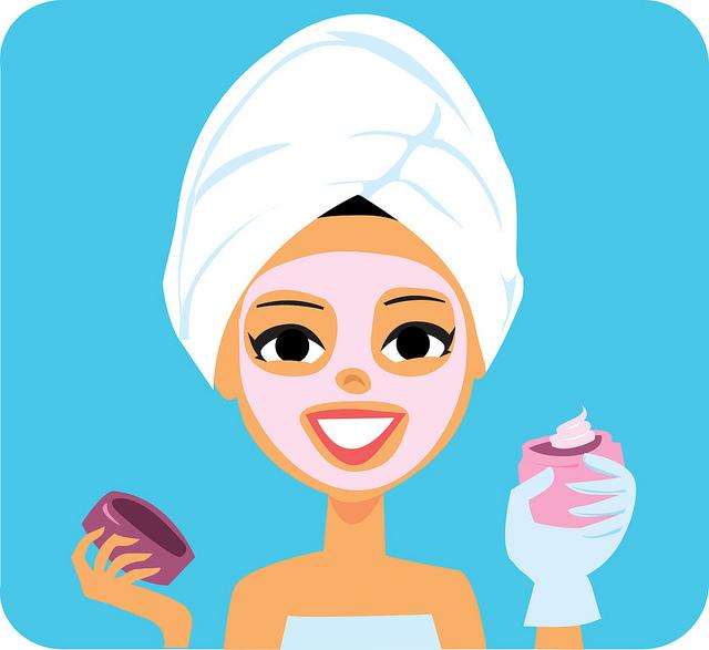 Skin Care Clipart