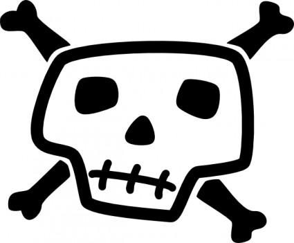 Skull And Bones Clip Art Free Download-Skull And Bones clip art free download-6