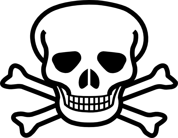 Skull And Crossbones Clip Art At Clker C-Skull And Crossbones Clip Art At Clker Com Vector Clip Art Online-0