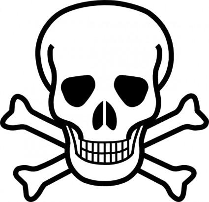 Skull clip art free - ClipartFest