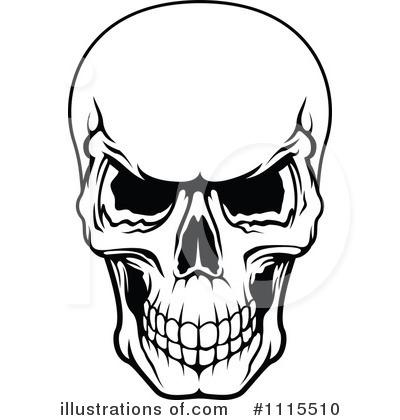 Skull Clipart 1115510 Illustration By Seamartini Graphics