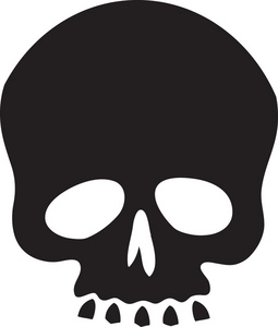 Skull clipart image simple clipart cliparts for you