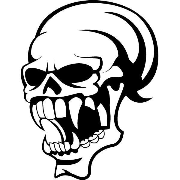 Skull vector clip art-Skull vector clip art-8