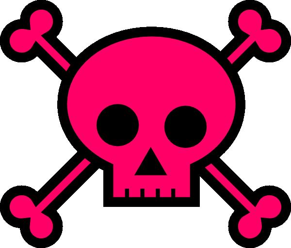 Skull With Crossbones Clip Art At Clker -Skull With Crossbones Clip Art At Clker Com Vector Clip Art Online-14