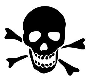 Skulls cliparts
