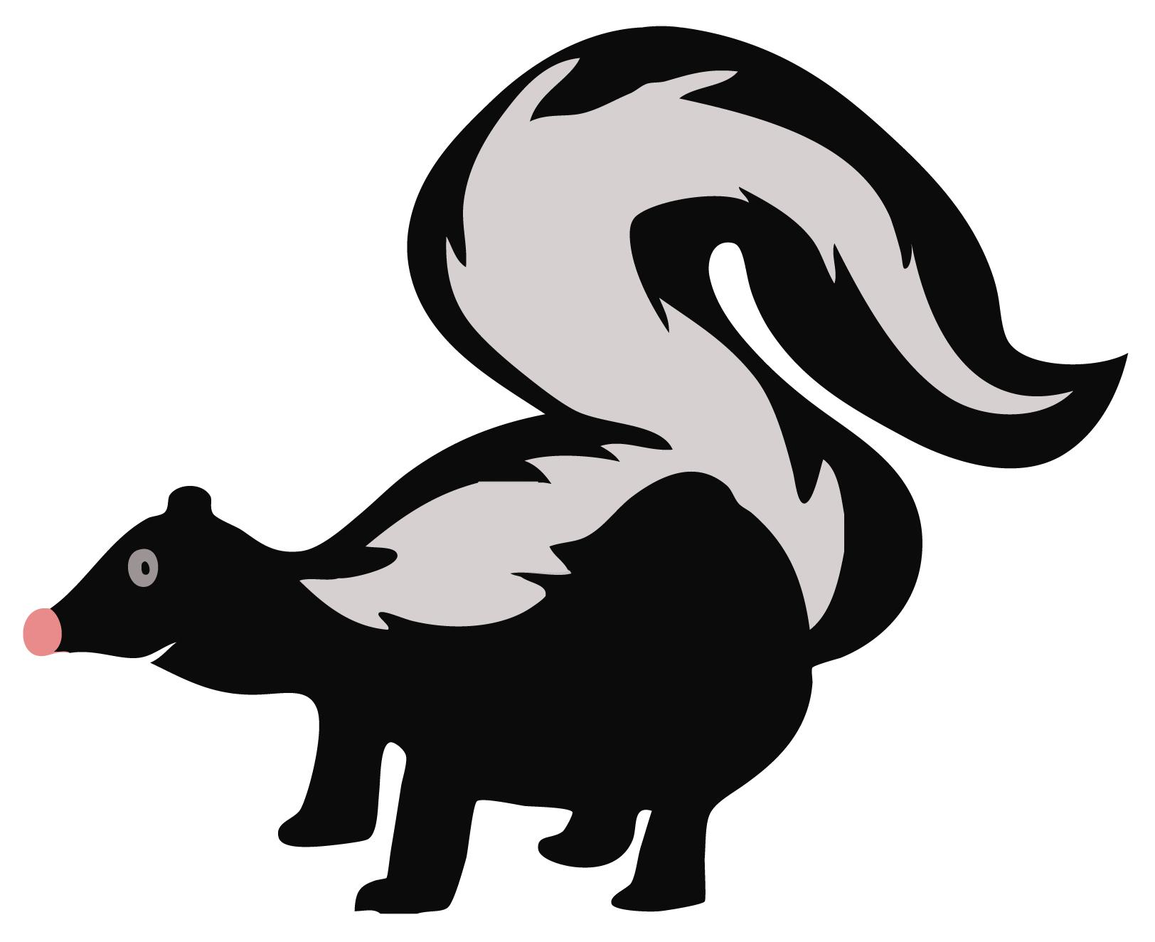 Skunk Clip Art-Skunk Clip Art-4