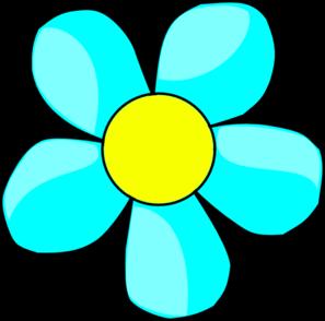 Sky Blue Flower Clip Art-Sky Blue Flower Clip Art-13
