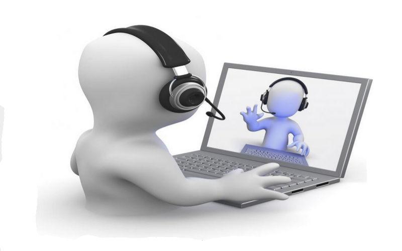 Skype Clipart video calling